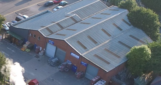 Warehouse, Mezzanine & Yard Area - Former Jewson Premises.