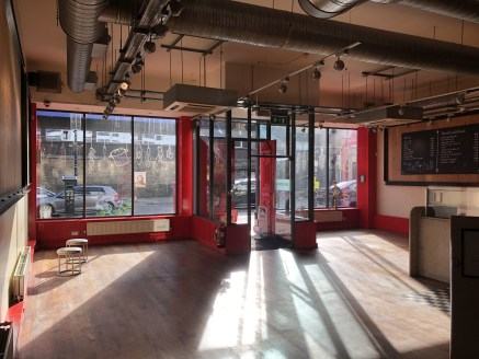 Camden / Chalk Farm - REDUCED RENT - New Lease A3 (D2 STP) Opportunity - Double Fronted - Adjacent to Sainsbury's Local. Directly Opposite Roundhouse Theatre. Approx....