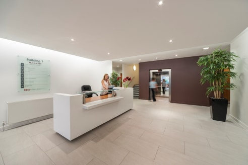 Set within attractive landscaped surroundings, Queens Park provides BREEAM 'Excellent', air conditioned offices with an impressive reception area and flexibility to offer open plan accommodation or a range of suites from 2 desks to 300 desks and all...