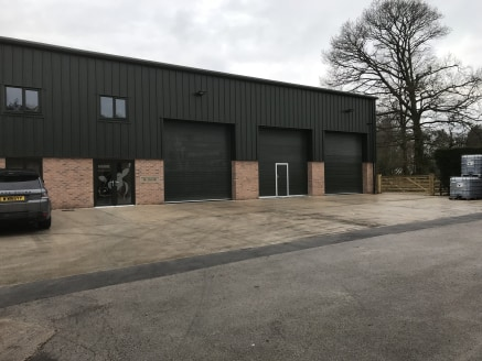 The property comprises an end- terrace, single storey, newly constructed warehouse. The property has the benefit of:  *CCTV  *Concrete floor   *Three phase electrics   *External parking/loading   *Intruder Alarm   *Electric roller shutter 4.1m wide...
