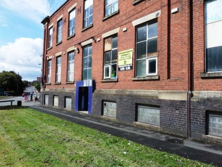 <p>The subject property comprises a ground floor showroom/trade counter premises totalling approximately 83.89 sq m (903 sq ft) including storage facility.<br /><br />The premises comprise of open plan accommodation which has been carpeted and has pl...