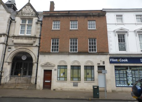 Substantial mid-terraced building previously used as a banking hall with upper level ancillary offices and staff facilities. Located close to Hereford Cathedral in an established commercial location....