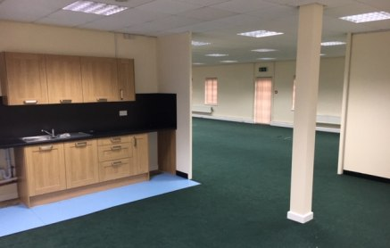 The property briefly comprises a detached two storey office building. The accommodation is predominantly open plan with several private office suites benefiting from:  Category II lighting;  Network perimeter trunking;  Kitchenette and w/c facilities...
