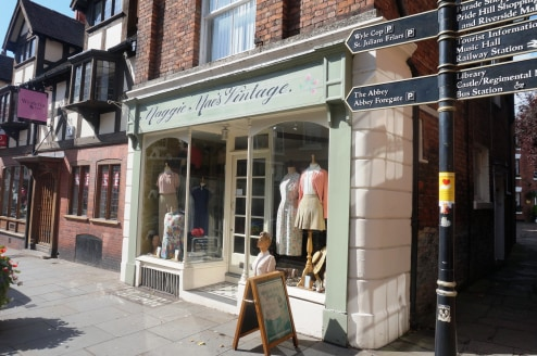Attractive Ground Floor Shop\nCorner Position\nOn Main Thoroughfare Through Shrewsbury Town Centre\nSales Area approx. 23 sq m (250 sq...