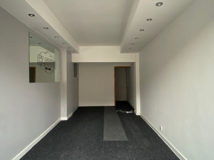 The property comprises a lock-up retail unit.  The property includes concrete floor with a mixture of spot and strip lighting. The property is well fitted for security being previously used as jewellers.  The WC is accessed over the rear service yard...