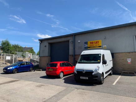 The property comprises an industrial/warehouse unit being constructed on a steel portal frame with block and metal sheet clad walls and under a pitched sheet clad roof incorporating translucent panels.  The accommodation has concrete floors and drive...
