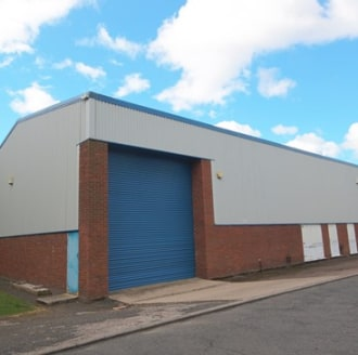 The units are typically of steel portal frame construction with brick/block work and insulated profile clad elevations beneath pitched lined roofs incorporating translucent roof lights. Roller shutter doors provide vehicle access....