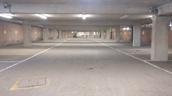 The premises comprise a ground floor secure area of 8,271 sq ft positioned underneath the larger NCP car park, currently providing 43 parking spaces. The area is serviced by a roller shutter door and fire escape on the south eastern side of the build...