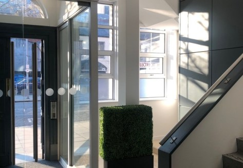 Modern City Centre Office Suite of c. 1,600 Sq Ft\n\nLinenhall Exchange occupies a highly prominent location on the junction of Linenhall Street and Clarence Street, within Belfast's Central Business District and Linen Quarter, a short distance from...