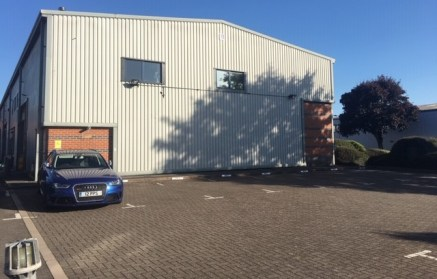 The property comprises two light industrial units built on a steel frame with profile clad roof and elevations.  The original layout has been amended with Unit 5 now comprising entrance doorway leading to a meeting room on the ground floor with gents...