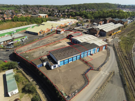 0.56 - 1.40 acres of secure hard standing with industrial / workshop accommodation close to Worcester City Centre. Available on flexible leases together or separately.