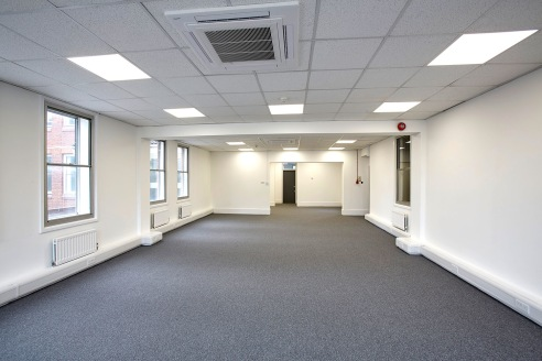 Refurbished offices to let & rare freehold opportunity