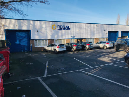 The unit comprises a end-terrace single storey self-contained industrial unit of steel portal frame construction which benefits from the following:  * Painted blockwork walls  * Insulated profile metal clad to the eaves and roof  * 10% translucent ro...