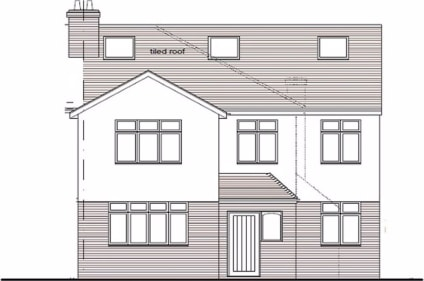 !! NOW SOLD !! ....C.S.J Property Agents offer this existing end terrace house with planning granted for extension / conversion creating 1 x 3 bed, 1 x 1 bed and 1 x studio flat