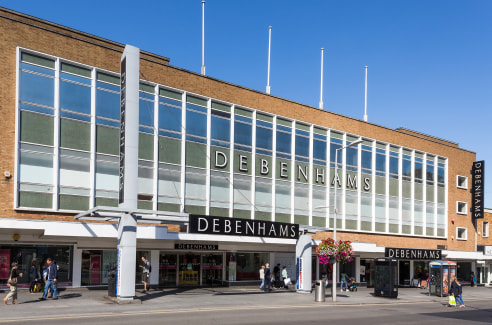 The former Debenhams building present s a unique town centre opportunity for large floor space use. The property offers over 220,000 sq ft spreading over 6 floors, with 60,000 sq ft floorplates. The building is adjacent to Harrow's primary public car...