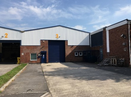Industrial Unit  5,599 sq ft (520.17 sq m)  6.30m eaves height