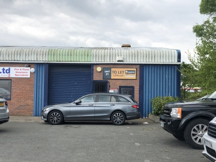 High quality industrial units in an established location.  1,016 sq ft  Rent - £8,128 per annum / £677 p.c.m