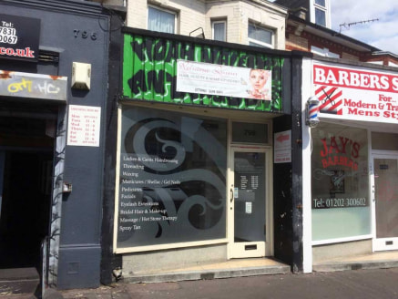Retail to let in Boscombe - 217 sq ft Location The property is situated on this long established busy main thoroughfare (A35) between the junctions with Gloucester Road and Somerset Road. The immediate vicinity has an eclectic mix of specialist and i...