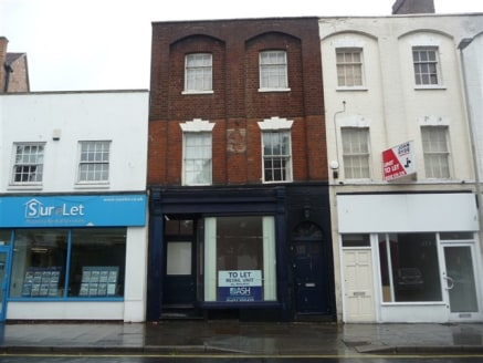 Grade II Listed self contained retail...