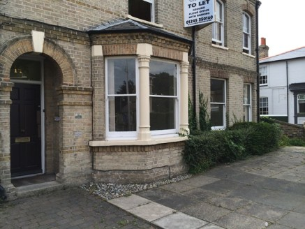 DESCRIPTION:\nAvailable now is Suite 1, approx 355sq ft (33sq m) a comprising 2 interconnecting ground floor offices. Located in a Victorian building prominately situated in New London Road which is in the heart of Chelmsford's business district....