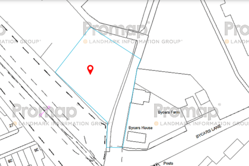 A level plot of land extending to 0.21 acres which has never been developed and now has the benefit of outline planning permission (Application No 61773/OUT) to build 3 detached two storey houses with front and rear gardens and off road parking.