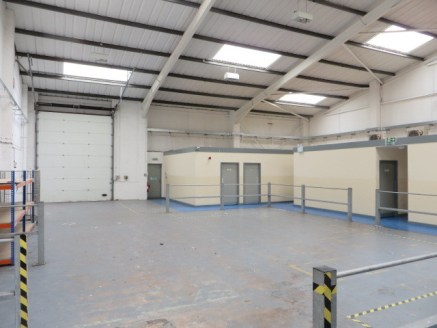 End terrace workshop/warehouse unit on popular trade counter estate. Currently fitted out with extensive office, meeting rooms and staff amenity accommodation. Size 446 sq m (4,800 sq ft) Excellent access to J44 of M6 and A689 (W) Carlisle Bypass. Co...
