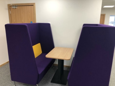 Perimeter trunking for Power and Data - Male, Female and DDA WCs - 8 person passenger Lift - Reception/entrance lobby - Ample on-site parking - Break-out Areas - Conference Facilities - Kitchenette - Fully carpeted - DDA...