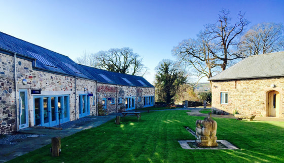 The accommodation is set within three terraces of stone barns that have been sympathetically developed for commercial office use. A further unit, known as 'The Cottage' is situated in the corner of the scheme, adjoining the car park.  The offices are...