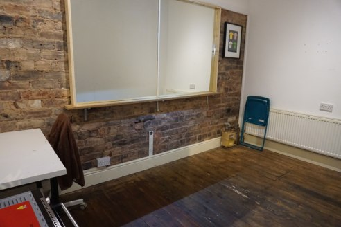 The property comprises a two storey retail unit, the main retail shop area is located on the ground floor with access through pedestrian doorway with roller shutter door over. The floor has wooden floor coverings and is lit by spot lights....