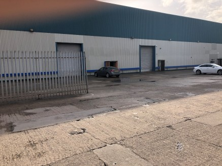 Steel Frame. Minimum clearance height of 7.5m. Level access electrically operated loading doors. Sodium box lighting. 24 hour manned security. Estate CCTV. Fully racked units available.