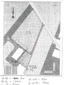 0.75 acres of commercial land available as a whole or in parts  The land has planning for storage (B8) and Research & Development uses.