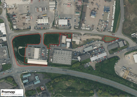 The four various sites are currently laid as grass/shrubs/trees of relatively flat surfaces which will have a shared access from Puddlers Road with South Tees Business Centre as indicated hatched black on the attached plan. The largest plot also may...