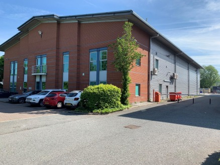 9.5m eaves. 3 x electrically operated loading doors. High quality two storey offices. High quality two storey offices. Securely fenced and gated yard. Detached car park with 59 marked spaces. Prominent frontage to Europa Boulevard.