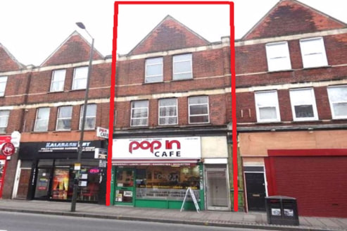 C.S.J Property Agents offer this Town Centre Investment / development opportunity comprising ground floor A3 premises with two floors of residential above.