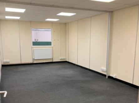 The property comprises a storage unit/workshop with 3m eaves height, modular offices, meeting rooms, kitchen and male & female WCs. The offices have been created by way of stud partition walls and could be removed by a tenant to create more workshop...