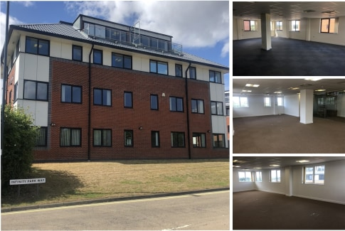 Bezant House is a purpose built detached four storey office building of steel frame construction with brick and block elevations, aluminium double glazing and a pitched tile roof.  Internally, the property consists of a secure ground floor entrance l...