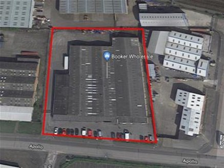 The property, a substantial cash and carry warehouse building, comprises warehouse accommodation on the ground floor and canopied loading area with a roller shutter door to the rear. In addition, the property benefits from car parking for some 38 car...