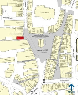 <p>A historic building fronting onto Kingston's Market Square in the town centre. &nbsp;Nearby retailers include Jack Wills and John Lewis which are just a short walk away.</p><ul>  <li>Open plan shop within a period Grade II listed building</li>  </...