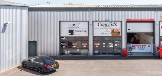 Trade Counter / Warehouse Unit  Ground Floor 249 sq m (2,685 sq ft)