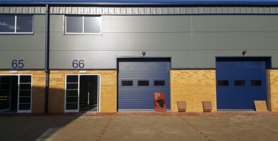 New Industrial / Warehouse Unit   Total GIA 87.51 sq m (942 sq ft)