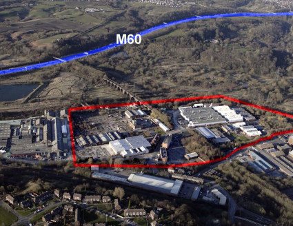 Junction Eco Park is a 48 acre, mixed use site, situated adjacent to juntion 16 of the M60 motorway, with access from the A666 Manchester Road, via Queensway and Rake Lane.