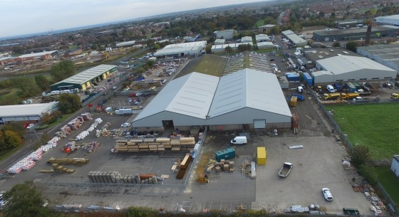 The property comprises a semi-detached industrial warehouse which has recently undergone a major refurbishment to include new roof and new cladding to the elevations.   An office pod has been constructed to include WC facilities which include LED lig...
