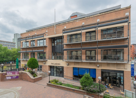 This self-contained office is arranged over first and second floors and comprises approximately 6,100 sq ft (566.7 sq m) net approx....