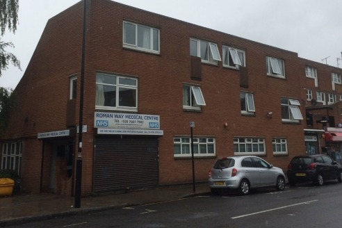 Comprises a brick built 80's style three storey detached building previously used as a Medical Centre. The ground floor provides reception area with waiting room, several treatment rooms, record room, computer room, boiler room, kitchen and WCs. The...