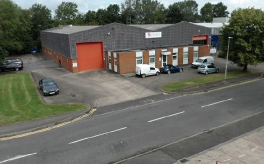 Industrial Warehouse Unit With Secure Yard