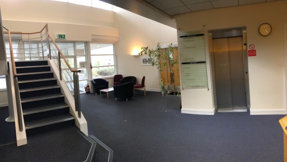 Small modern offices. Rent of £10 psf pa to INCLUDE electricity, service charge and building maintenance.  A prestigious office development providing a range of small office suites suitable for new start up and established businesses.  Air conditione...