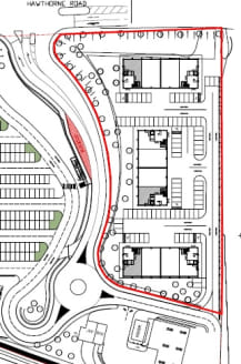 A prominent site zoned for employment use.  The site is considered suitable for a number of B1, B2 & B8 employment uses. An indicative layout showing a development of 27,900 sq ft is attached to the details.   2.18 Acres  Price On Application