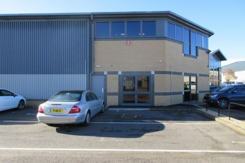 Two self-contained modern refurbished offices/workshops with car parking