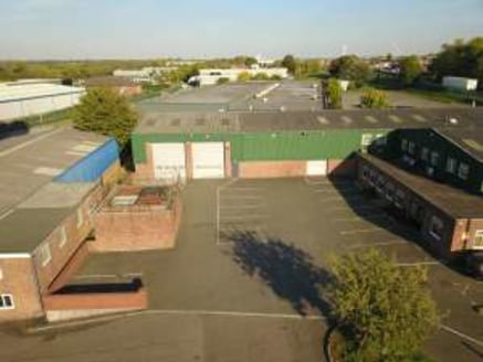 Industrial unit with W/C. Established industrial estate location. Quick connection to the A38 and J....