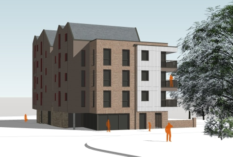 This lock-up/studio accommodation forms part of a new 5 storey apartment building comprising some 14 x 2 bedroom flats with this commercial space being available on the ground floor, all being granted under application 17/01118/AS.   It is proposed t...